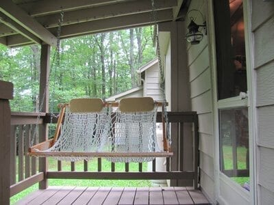 Front porch includes a Nags Head Hammock for lazy summer days!
