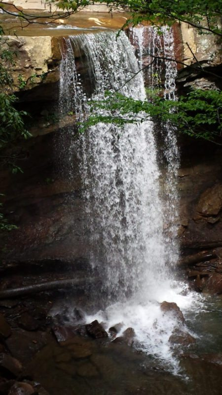 Cucumber Falls--less than 3 miles from the Lodge!
