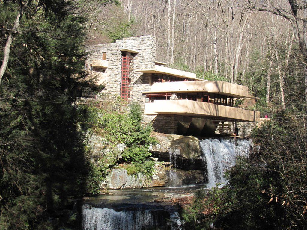 Fallingwater--maybe, the most popular destination for the area, located just 10 miles from the Lodge!