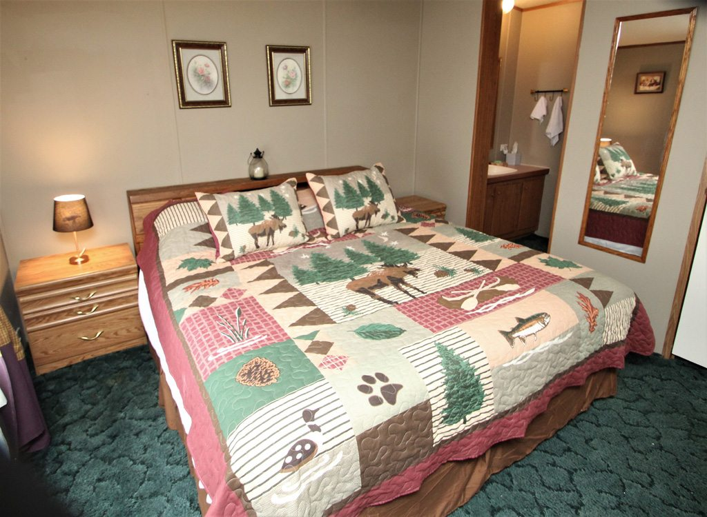 King Bedroom--True Master with Attached Full Bath for ultimate privacy