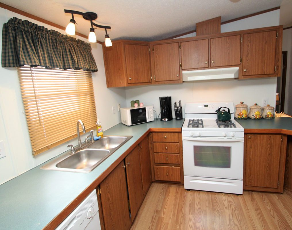 Full, well equipped kitchen!