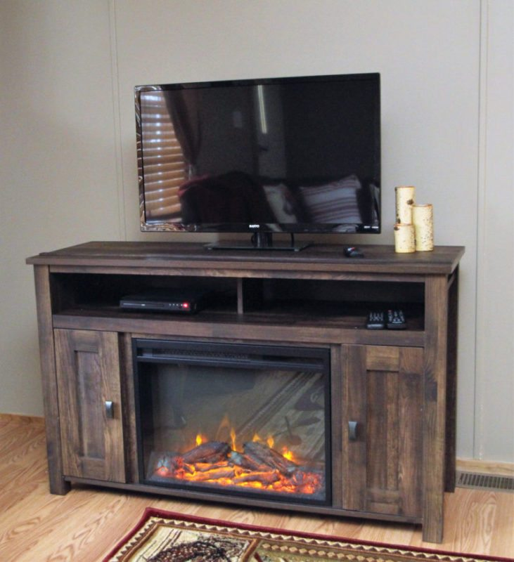 Yes, even fireplace (electric type)