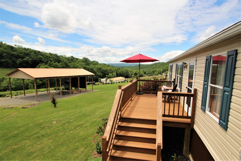 Sits on 12 beautiful acres with its sister property Cabin on Coon Hollow!