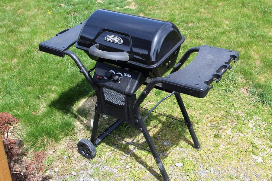 Yes, gas grill