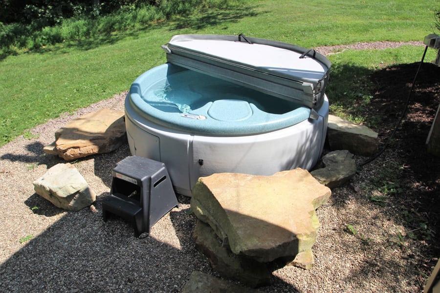 A soaking tub!