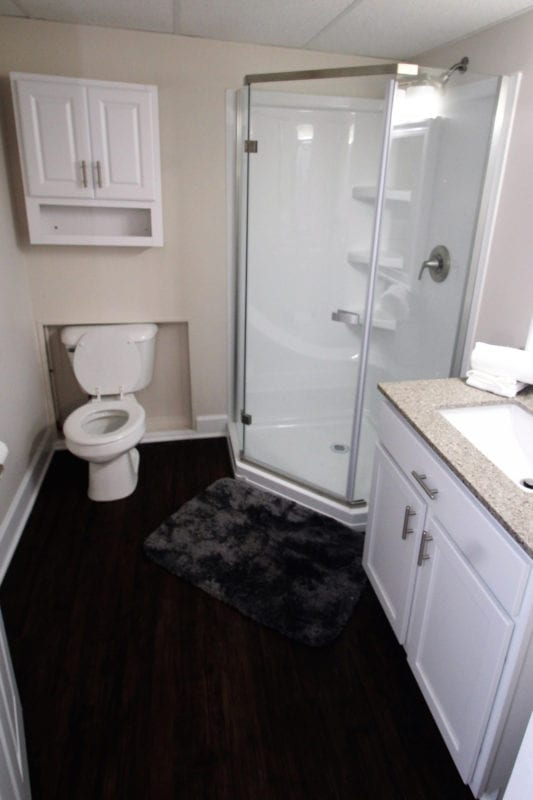 Downstairs Master Bathroom!