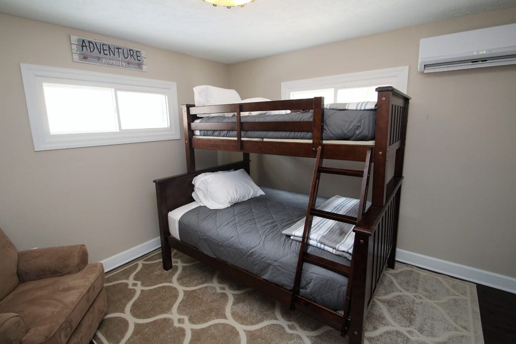 3rd bedroom..perfect for your kids getaway