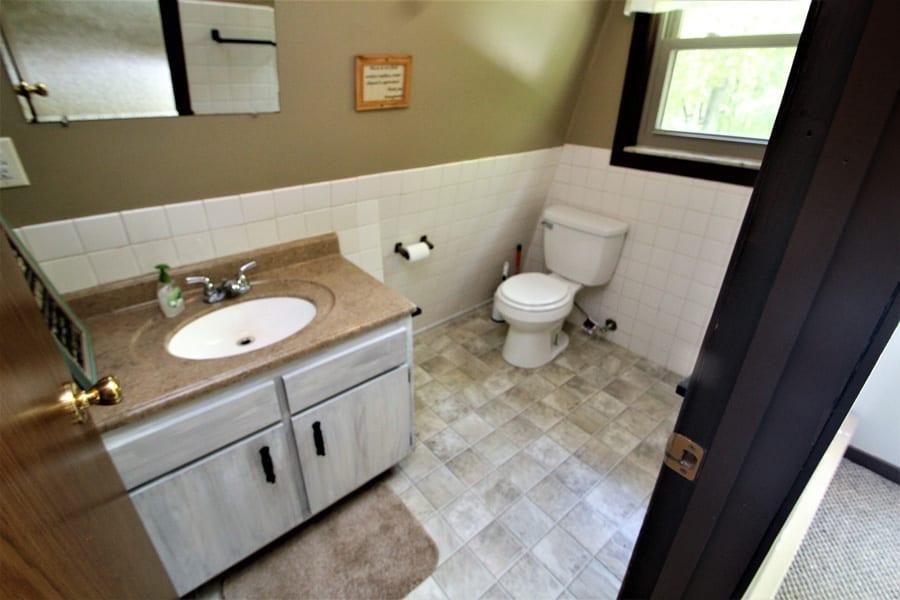 2nd floor  (1/2 bath) bathroom!