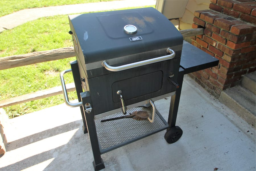 Yes, a charcoal grill!