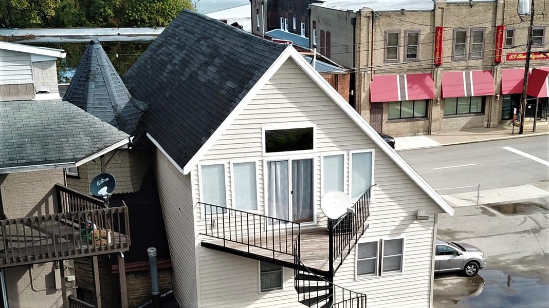 Elevated View of the Loft's Deck!