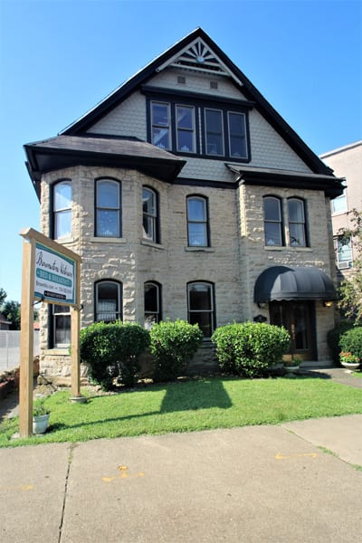 Part of the Brownstone Victorian on Historic Route 40!