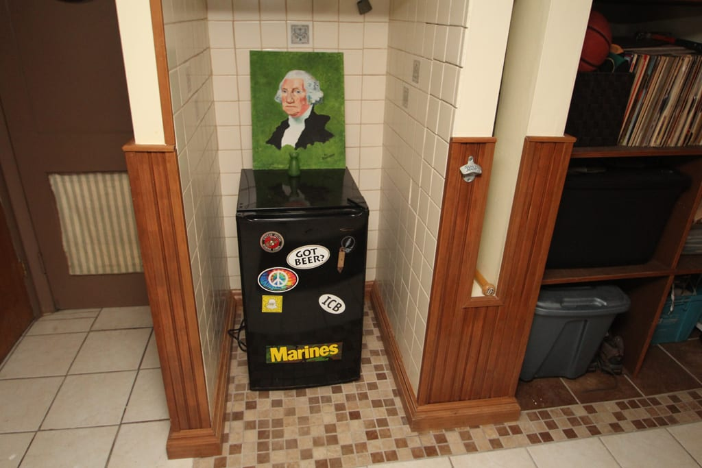 Plenty of refrigerators for your beverage enjoyment!