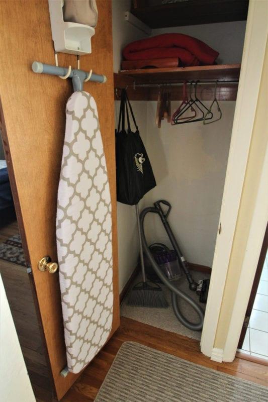 Hall closet!