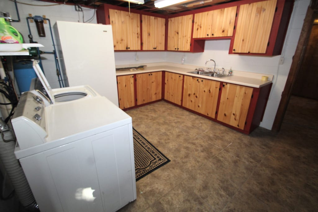 Large laundry room!