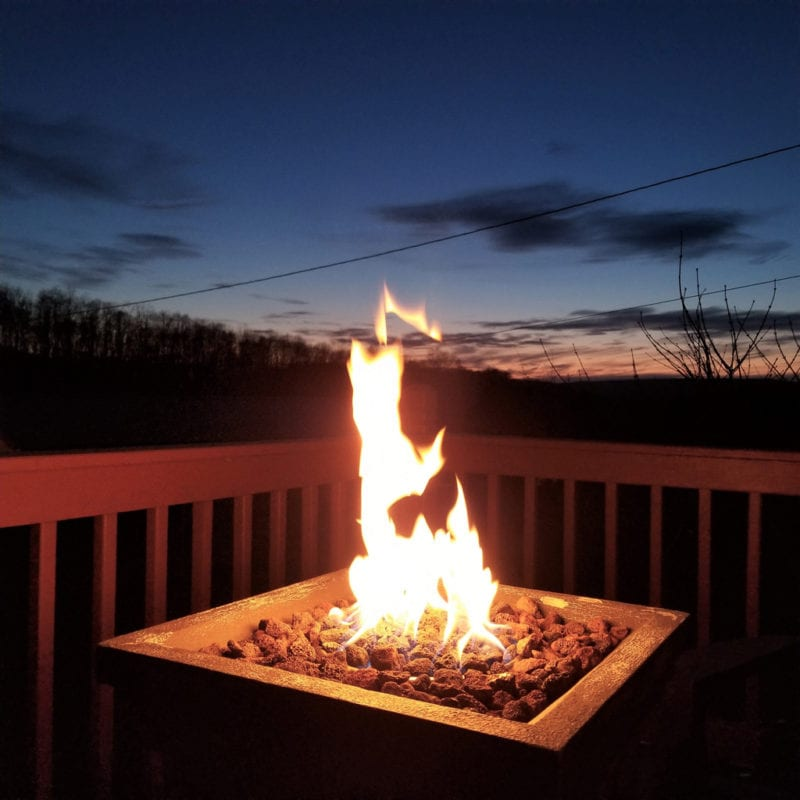 Catch a sunset right from your front deck!