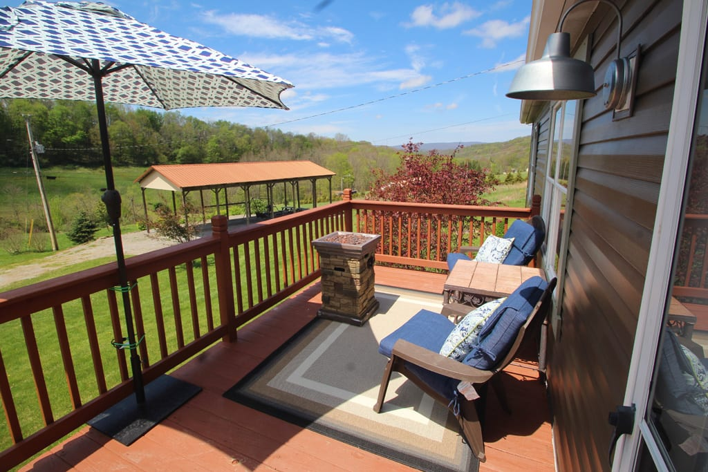 Exceptional view of property and mountain valley!