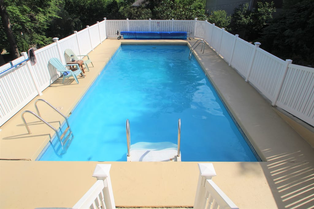 Heated, in ground pool for your summer escape!