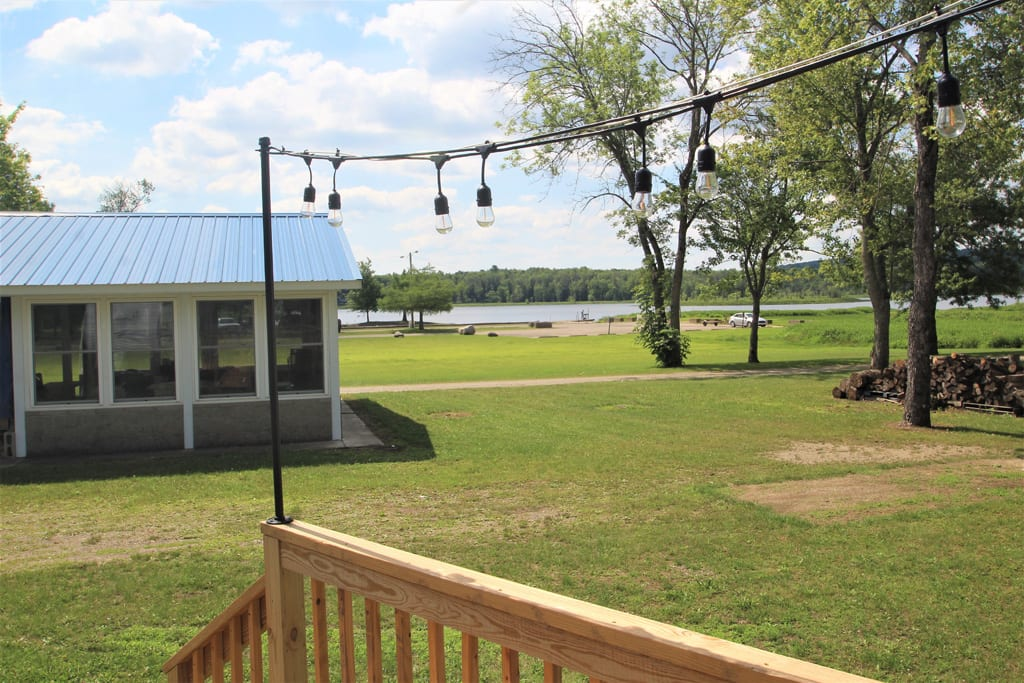 Enjoy the lake view from your own deck!