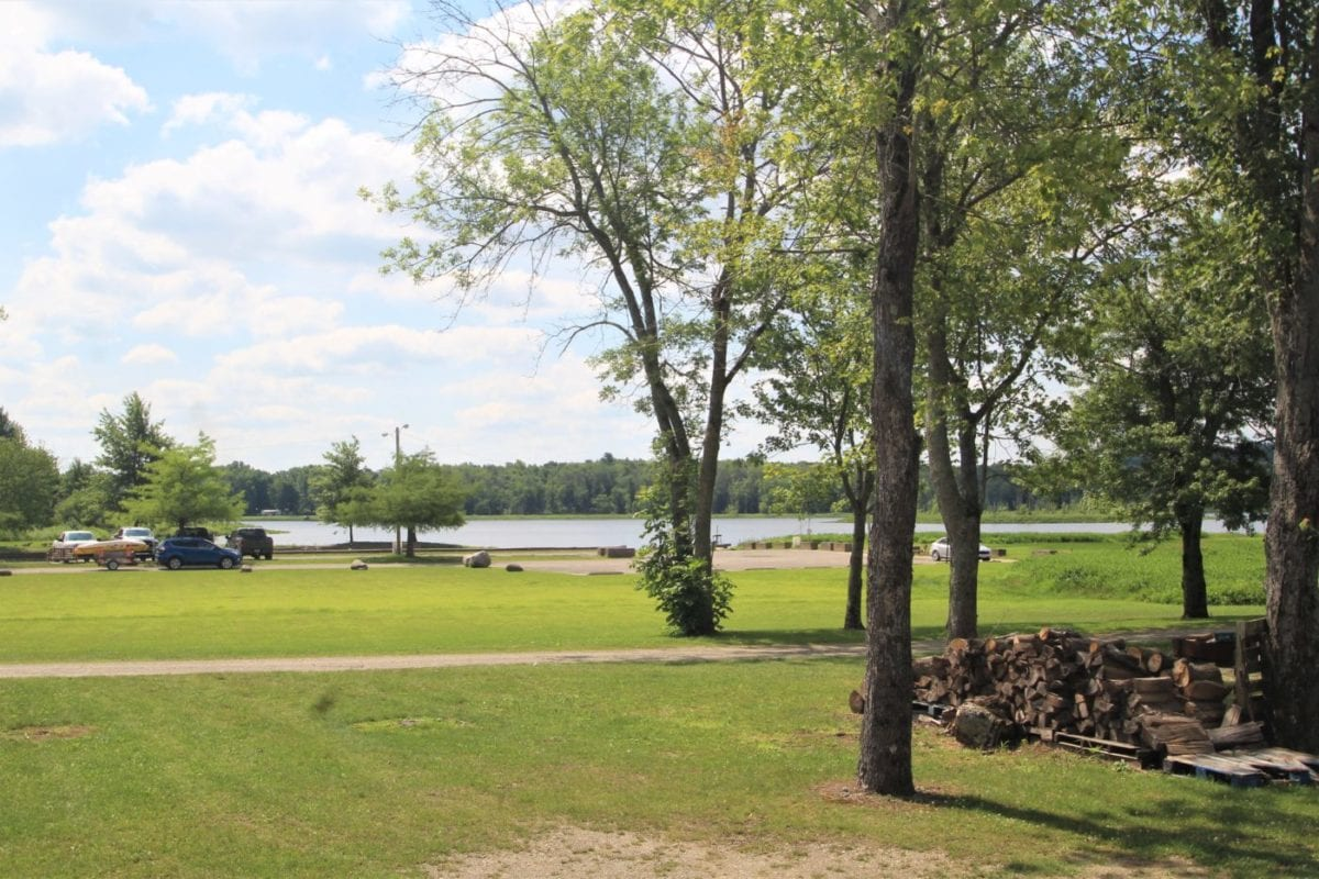 Just a short walk to the Lake from your RV!