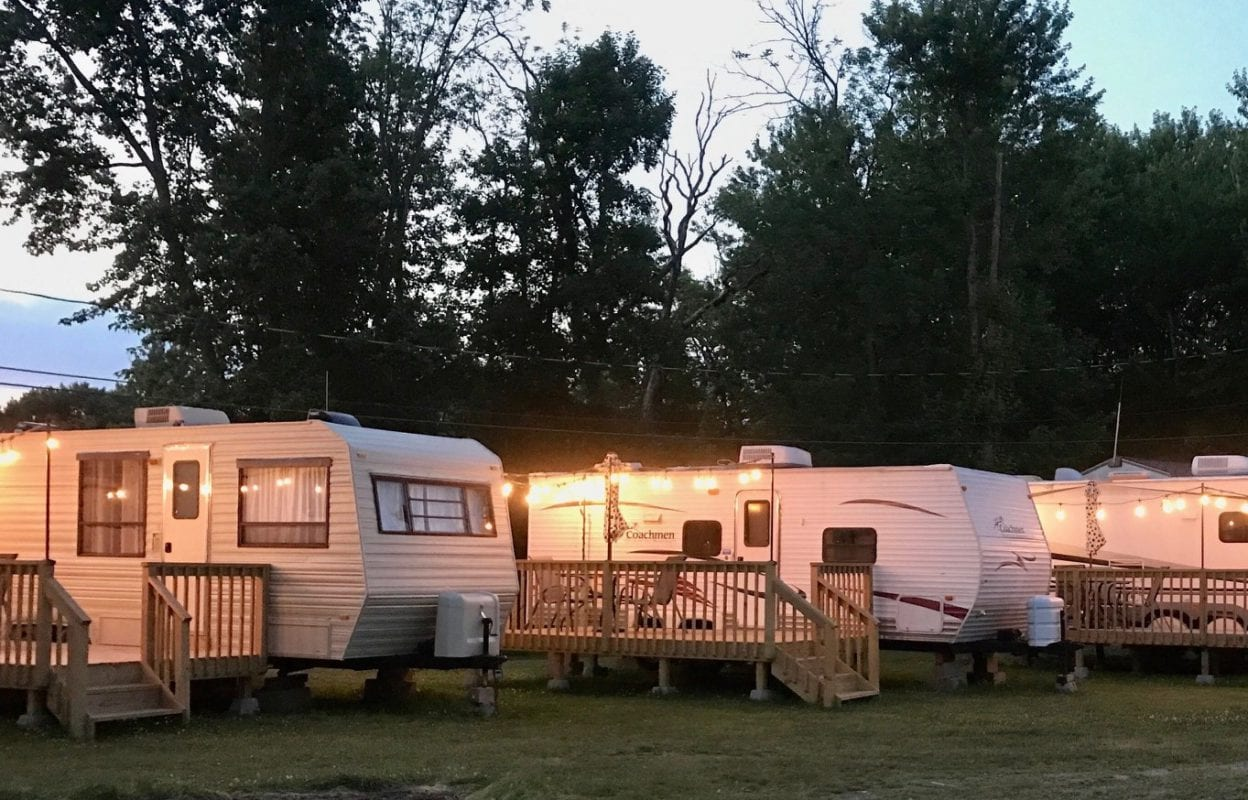 Enjoy Lake Living at our RV Park outside of Lake Erie!