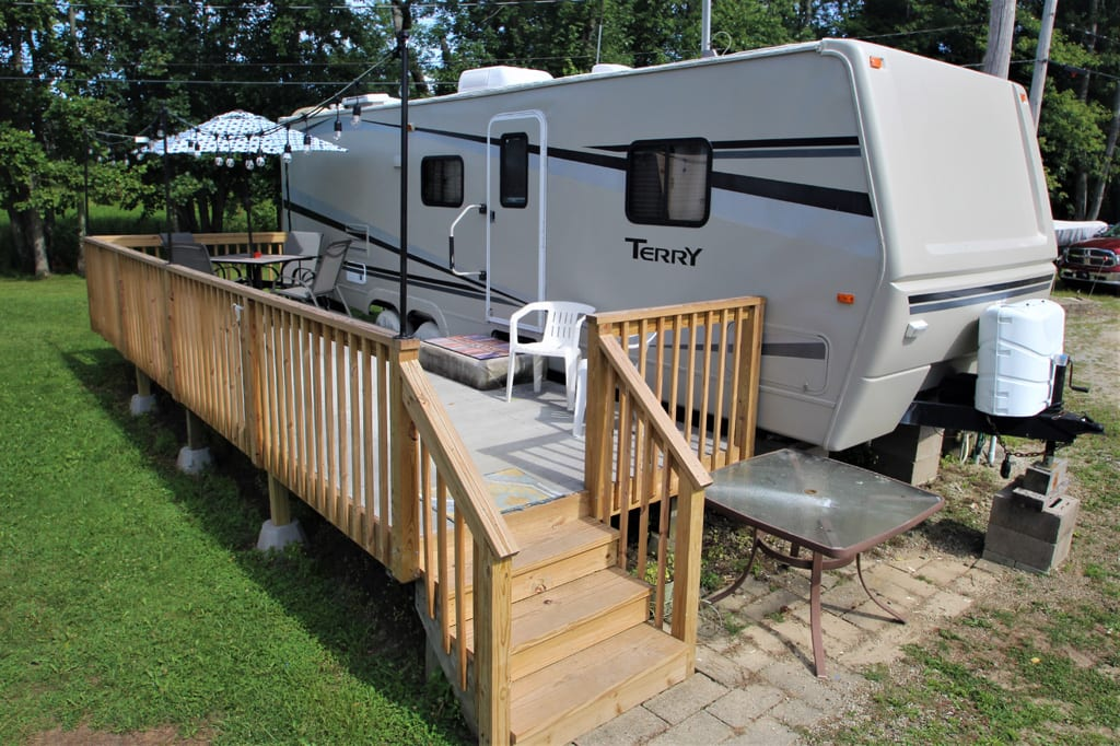 Welcome to Lakefront RV at Lake LeBoeuf!