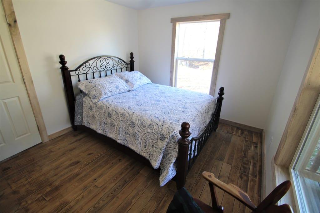 Bedroom #1 with queen bed.