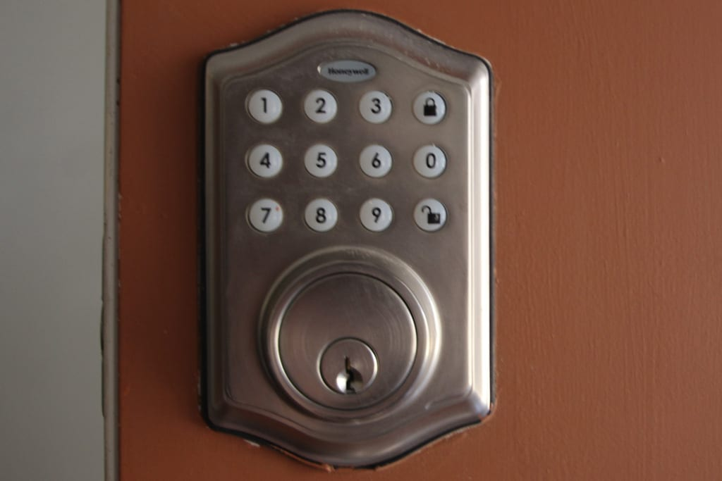 Easy keypad access to the property so there are no keys to pick up!