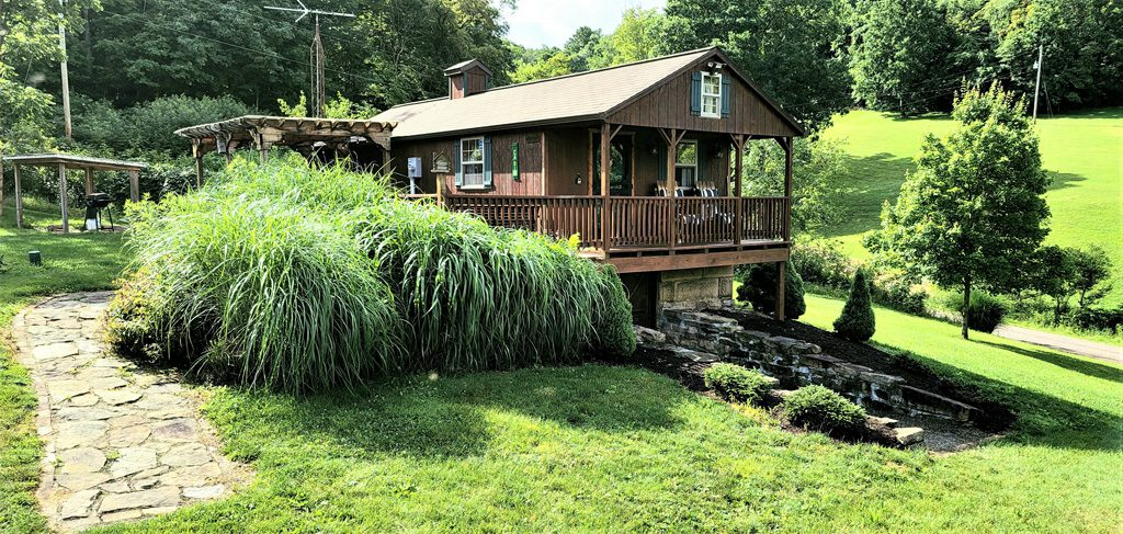 Enjoy our country meadow cabin for your next getaway!