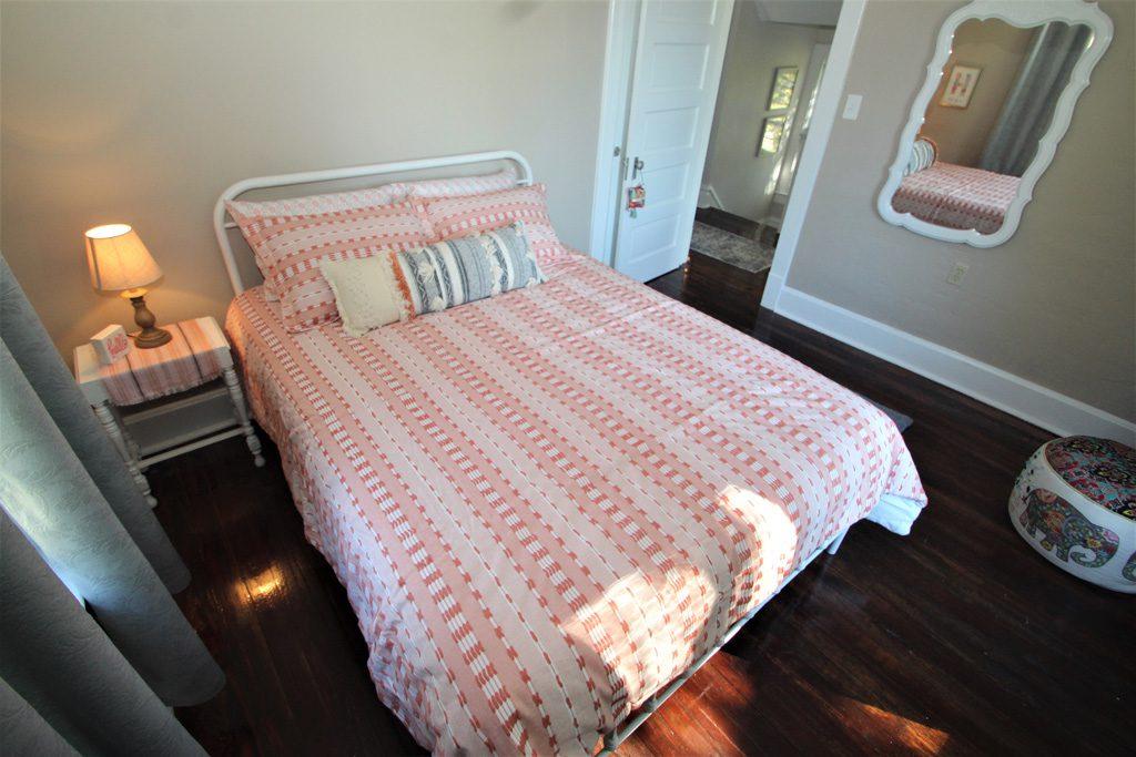 Bedroom #2 with queen bed.