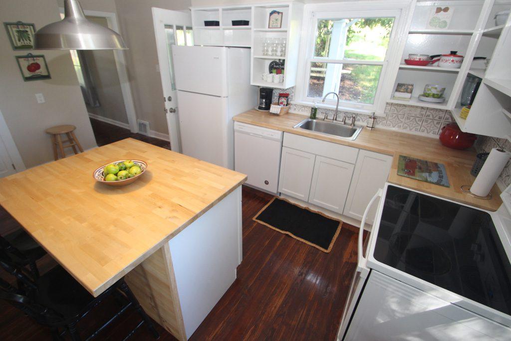 Kitchen in the farmhouse.